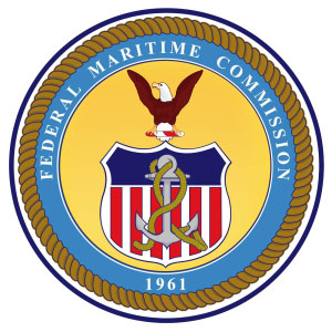 FMC License of the U.S. Federal Maritime Commission
